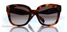BABY AUDREY Sunglasses BROWN womens tilda shadow square round oversized 41755