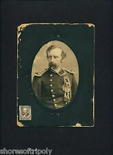 ORIGINAL CUSTER CABINET CARD PHOTO with HISTORY~ SD ~ YATES ~ GEORGE ~ MORA NY