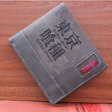 Japan Anime Tokyo Ghoul Cosplay Theme High Quality Pu Leather Wallet Purse