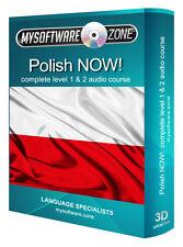Aprender hablan polaco ahora! completo de nivel 1 2 Audio Curso De Lengua Mp3 Cd De Regalo Nuevo