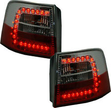 Back Rear Tail Lights In Red-Clear LED Pair For Audi A6 Avant C5 4B 3/98-2/04