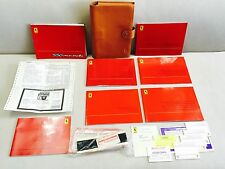 2001 FERRARI F550 MARANELLO OWNERS MANUAL  FULL OEM SET +MRSP ((CLEAN SET)) RARE
