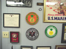 Navy Marine Corps Commendation Medal in Wall Plaque Format. Perfect for display