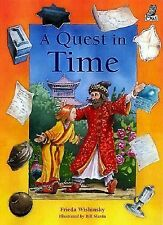 A Quest in Time by Frieda Wishinsky (2000, Hardcover)