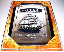 Cutty Sark 12 Year old Whisky Nostalgie Barspiegel Spiegel Bar Mirror 22 x 32 cm