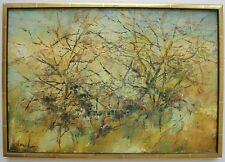 Original Painting by Listed Jerusalem Artist Ascher Amid