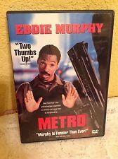METRO DVD 1997 ACTION COMEDY THRILLER MOVIE EDDIE MURPHY