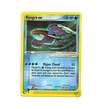 KYOGRE EX 001 Ultra Rare Black Star Promo Pokemon Card!