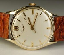 Longines 14K Solid Yellow Gold 17J 280 Vintage 1961 Swiss Dress Watch