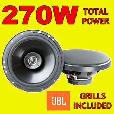 Jbl 270w total 2way 6.5 Pulgadas 16,5 Cm Gt6 coche door/shelf Altavoces Coaxiales Parrillas