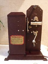 VINTAGE 1930's KODATOY Movie Projector IOB w 3 Cartoon Movies + Manual + MORE
