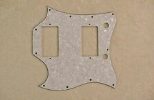 WHITE PEARLOID FULL FACE SIZE 4 PLY LEFT-HANDED PICKGUARD FOR GIBSON SG STANDARD