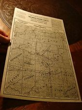 Southwick-sellers land Co. Antique Stevens Point WI Price County MAP