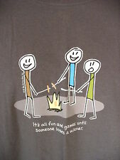 Its all Fun Games Until Someone Loses a Wiener Humorous Joke Novelty T Shirt L