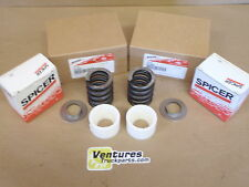 KING PIN SPRINGS BUSHINGS & RETAINER KIT DANA 60 FRONT AXLE 4X4 OEM SPICER