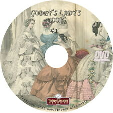 Godey's Ladys Magazine { Beautiful, Color Fashion & Clothing Images } on DVD