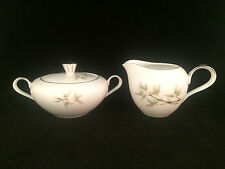 Empress China Bamboo Garden 1552 Sugar Bowl & Creamer Set