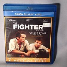 BLU-RAY The Fighter 2 DISCS (MARK WAHLBERG/CHRISTIAN BALE/AMY ADAMS) w/DVD MINT