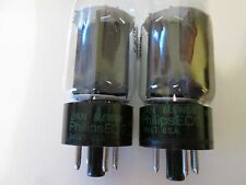 Philips ECG JAN 6L6WGB tubes USA n.o.s., 1 matched pair