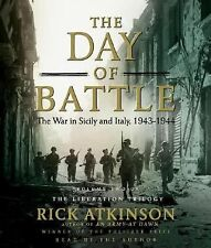 THE DAY OF BATTLE  -Rick Atkinson-  ABRIDGED AUDIO CD ~ NEW