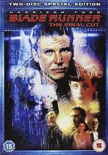 BLADE RUNNER FINAL CUT  Harrison Ford, Rutger Hauer, Sean Young NEW UK R2 DVD