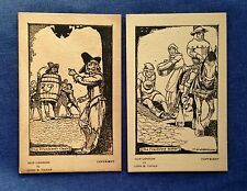 Vintage Postcards. Punishments of the Past. Old London by John B Thorp.