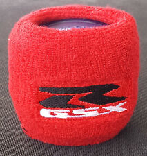 SUZUKI RED GSX R 600 750 1000 RESERVOIR COVER SOCK WRISTBAND