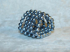 Ultimate 5 Beaded Rows Erection Enhancer Ring Rotating Beads