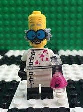 Lego 71010 Monsters Minifigures Series 14 Crazy MAD SCIENTIST Beeker Minifig