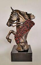 American Saddlebred Horse Sculpture, Trophy, Figurine