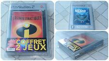 RARE Pack Collection NEUF Blister FR Français PS2 ♦ LES INDESTRUCTIBLES + NEMO