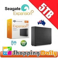 Seagate Expansion 5TB External Hard Drive Disk Desktop 5 TB USB 3.0 HDD *AU WTY*