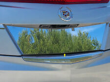 2013 2014 CADILLAC ATS STAINLESS STEEL LICENSE PLATE TRIM INSERT