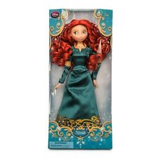 "Brave Princess MERIDA Classic Doll Toy Action Figure 12"" Disney Store Authentic"
