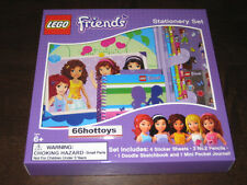 LEGO Friends Stationery Set NEW