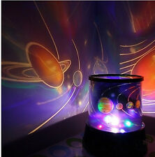 New Kids Love LED UNIVERSE NIGHT LIGHT LAMP PROJECTOR  SOLAR SYSTEM good gift!