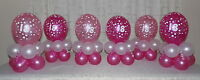 30th Birthday Balloon Decoration Display kit for 6 tables