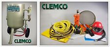 CLEMCO 00916 PORTABLE BLAST MACHINE, CLASSIC, 6 CU.FT., PACKAGE FREE SHIPPING