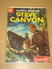 FOUR COLOR #641 VF (8.0) DELL COMICS STEVE CANYON OCTOBER 1955