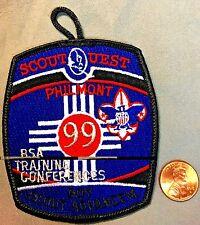 PHILMONT SCOUT CAMP BSA TRAINING CONFERENCES BOY SCOUT ADVANCEMENT POCKET PATCH
