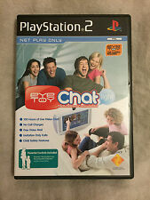 **EYE TOY CHAT LIGHT** for PlayStation 2 PS2 **Boxed & Complete!**