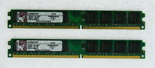 Kingston 4GB(2x2GB) Desktop KVR800D2N5K2/4G DDR2-800 TESTED