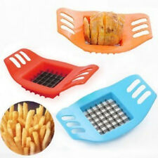 French Fry Patato Chip Cutter Vegetable Fruit Slicer Chopper Chipper Dicer ST