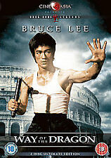 WAY OF THE DRAGON DVD 2 DISC ULTIMATE EDITION Bruce Lee Brand New Sealed UK