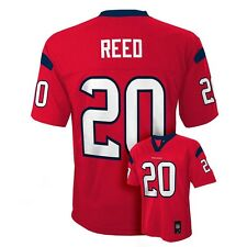 ($55) Houston Texans ED REED nfl Jersey YOUTH KIDS BOYS CHILDRENS (L-LARGE)
