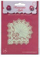 Marianne/Stencil/Romantic/Floral/Flower/Corner/emboss/Stitch/Embroider/EE3425
