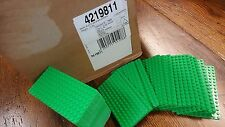 LEGO MiniFigure Base Plate 8x16 Green - CASE of 1000 Thin Small Stud Brick Table