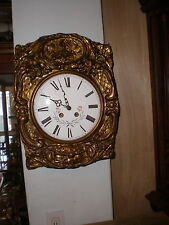 Vintage-French-Morbier Clock Movement-To Restore- Romanet Morbier France-#N421