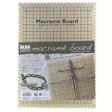 "Beadsmith Large Macrame Board With Instructions 10""x14"" (G15)"