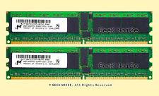Server RAM 16GB 2@8GB PC2-5300P ECC Registered DDR2 667 Memory LOT FIT HP xw9400